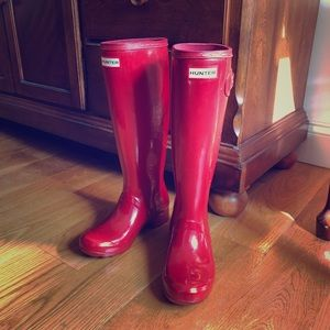 Hunter Original Tour Wellington Rain Boots